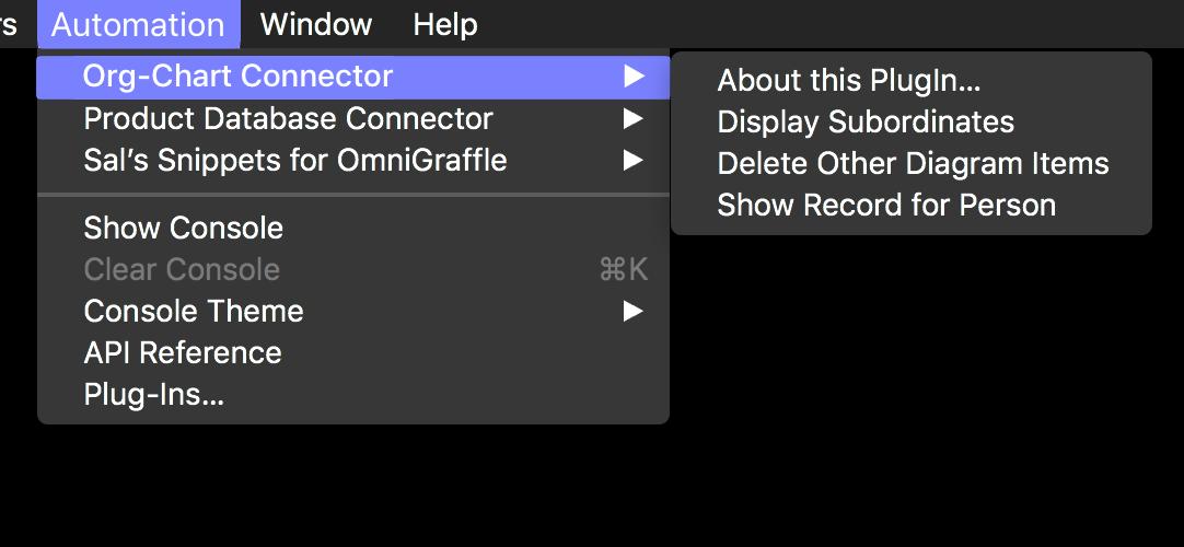 OmniGraffle & FileMaker: Building an Org-Chart